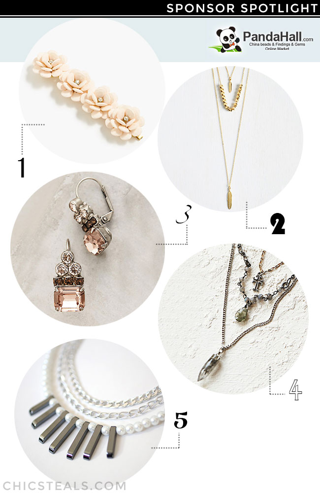 DIY jewelry ideas using PandaHall beads