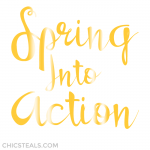 Inspire: Spring Into Action Typography