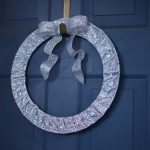 DIY Valentine's Day Jeweled Wreath with Paper Mart