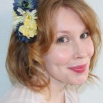 DIY: Flowered Hair Clip