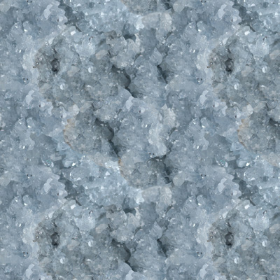 Light Blue Celestite Crystal Fabric by Carly J. Cais thumbnail