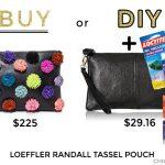 Buy or DIY: Loeffler Randall Tassel Clutch