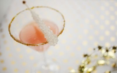 DIY Sparkling Holiday Mocktail Recipe