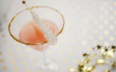 DIY Sparkling Holiday Mocktail Recipe