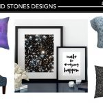 My New Stars and Stones Patterns for Chic Home Decor