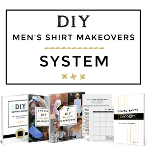 DIY Men's Shirt Makeovers System thumbnail