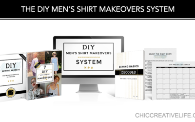 ANNOUNCEMENT: The DIY Men's Shirt Makeovers System is Live!